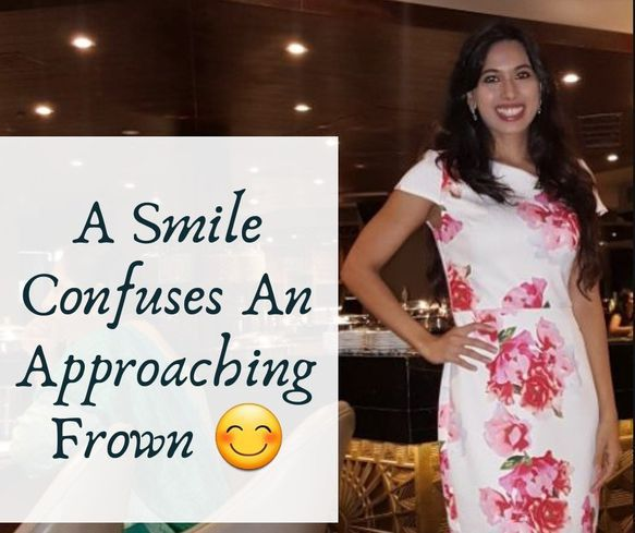sindhuja talks about smiling