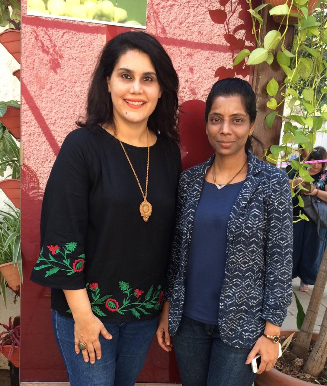 dr aarati patil with rachana gupta