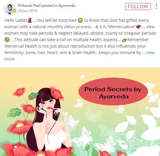 dr aarati patil secrets of ayurveda