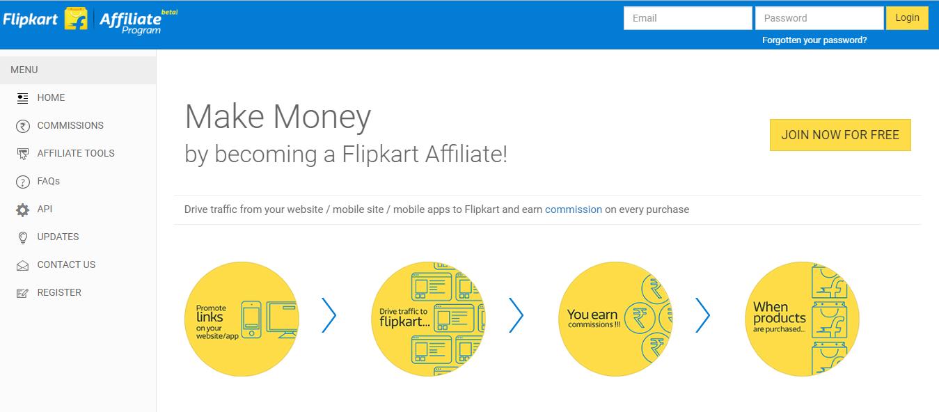 flipcart affiliate