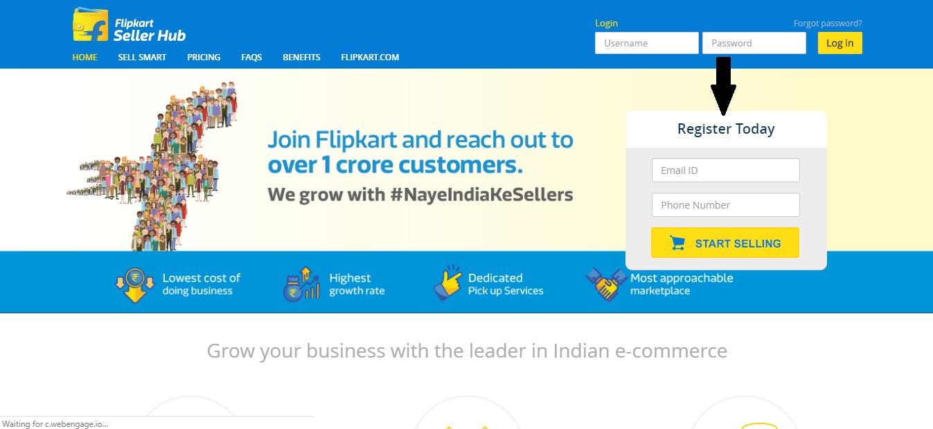 seller register flipcart