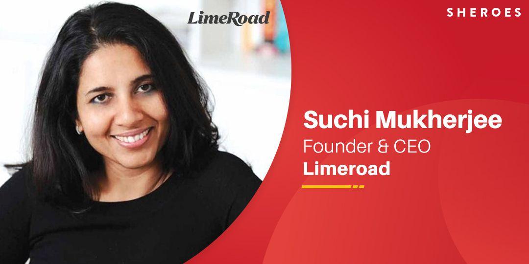 suchi mukherjee founder limeroad