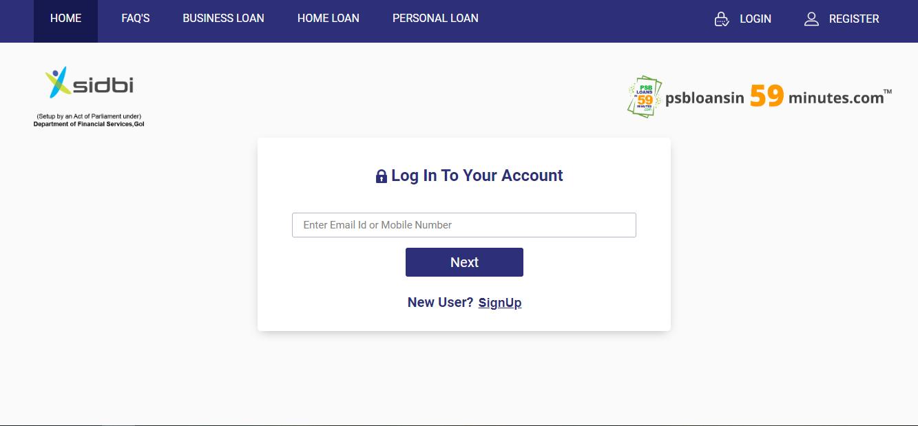 loan login
