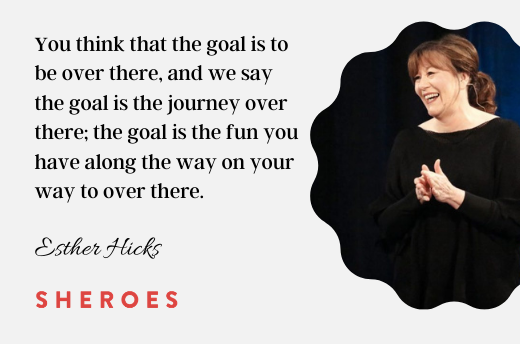 positive mindset quotes Esther Hicks