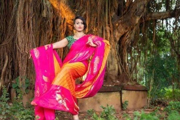kalaneca saree woman entrepreneur ramya rao