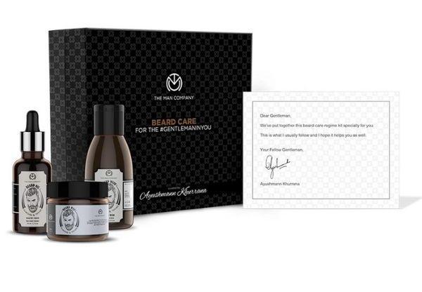 The Man Company Ayushmann Khurrana Gift Box