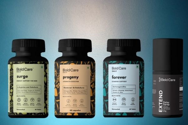 Bold Care Sexual Wellness Supplements For Men