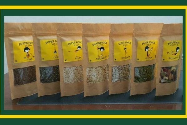 BagOfHerbs Superfoods Seeds
