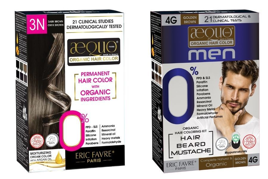 Purenaturals Organic Hair Colouring Products