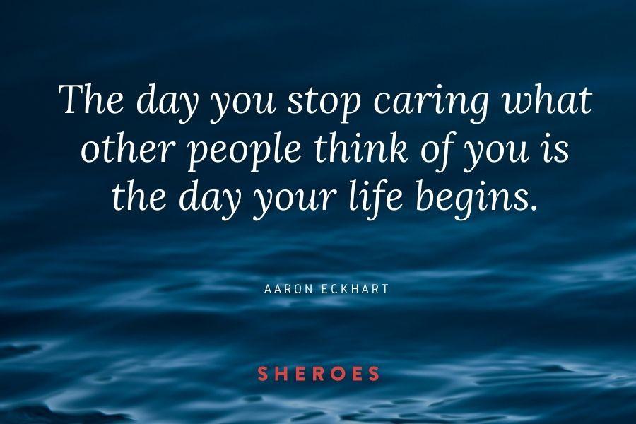 Aaron Eckhart Quote