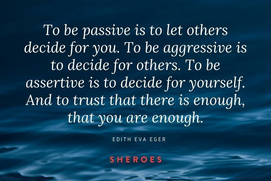 Edith Eva Eger Quote