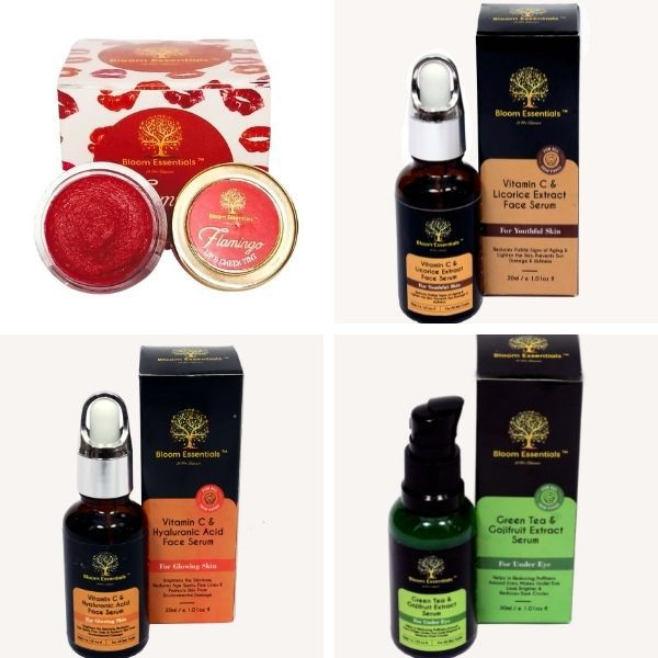BloomEssentials Cruelty-Free Natural Skincare Products