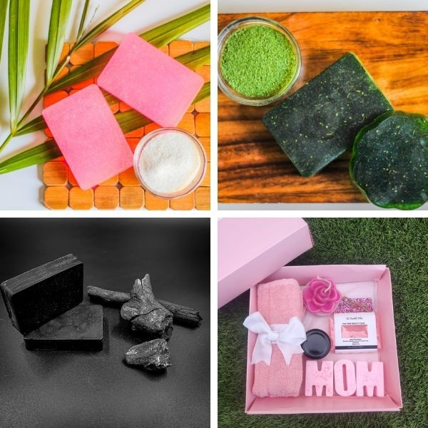 Bubble Bliss Natural Vegan Handcrafted Soaps