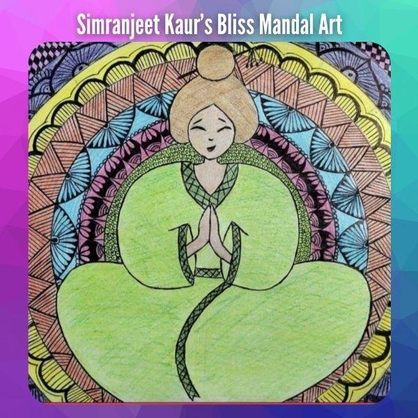 Bliss Mandal Art