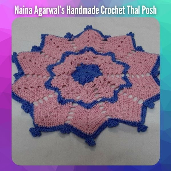 Handmade Crochet Thal Posh
