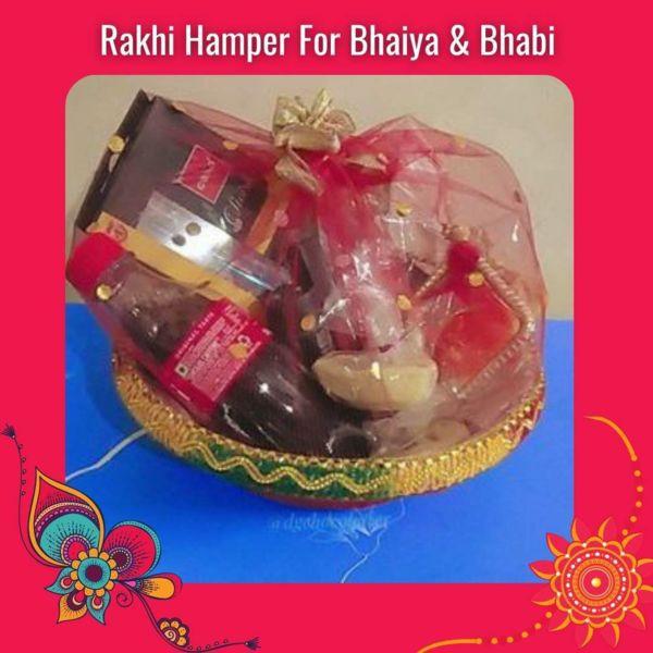 Rakhi Hamper For Bhaiya & Bhabi