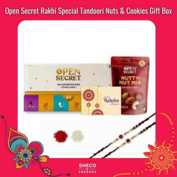 Open Secret Rakhi Gift Box