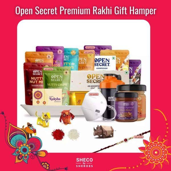 Open Secret Premium Rakhi Gift Hamper