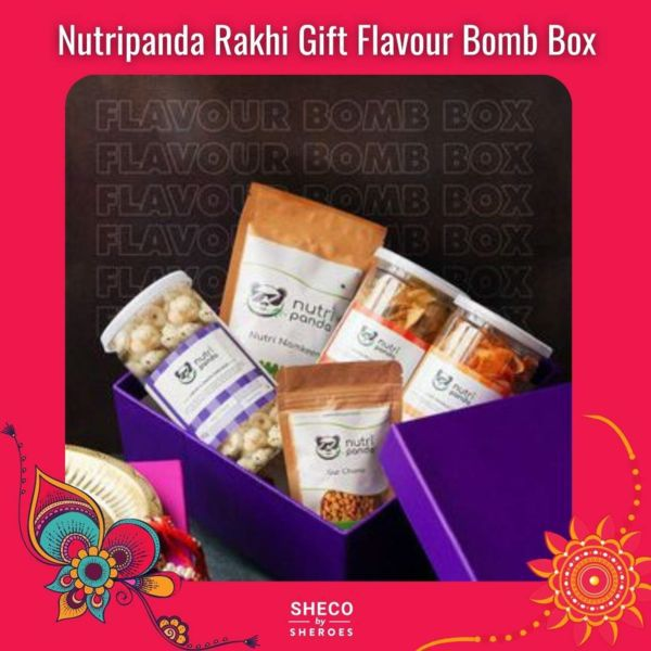Nutripanda Rakhi Gift Flavour Bomb Box