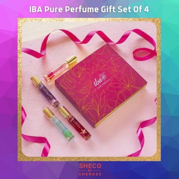 IBA Pure Perfume Gift Set Of 4