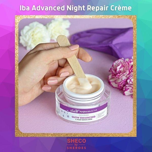 Iba Advanced Activs Youth Preserve Glow Enhancing Night Repair Crème