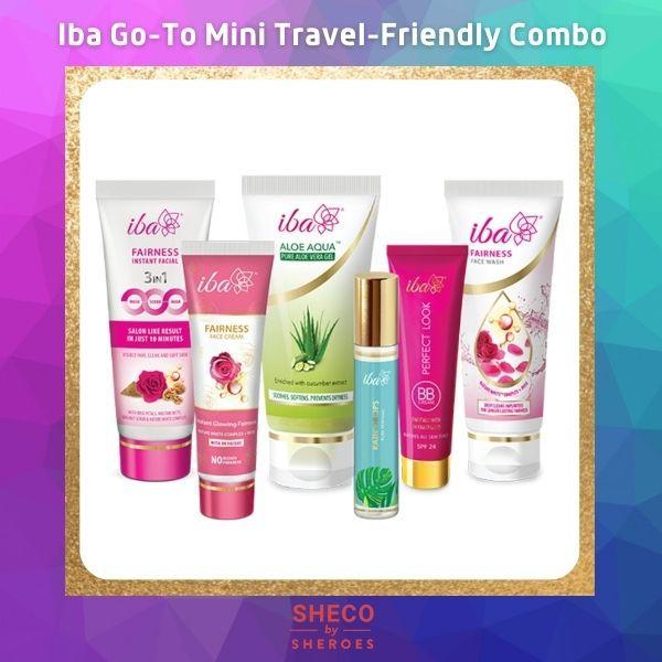 Iba Go-To Mini Travel-Friendly Combo