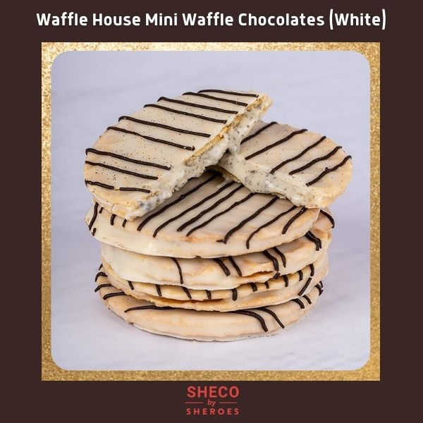 White Waffle Cookies