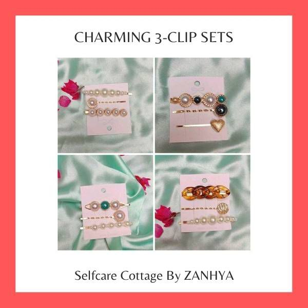 Charming Hair Clips For Women