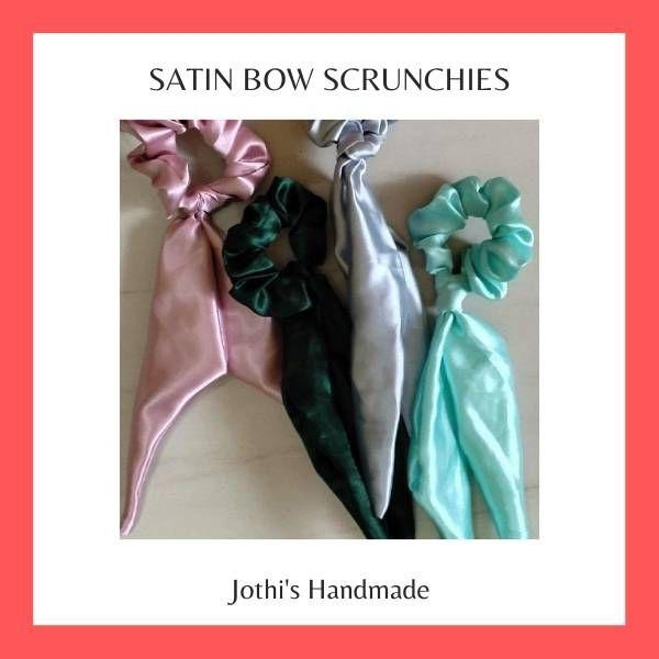 Satin Scrunchies
