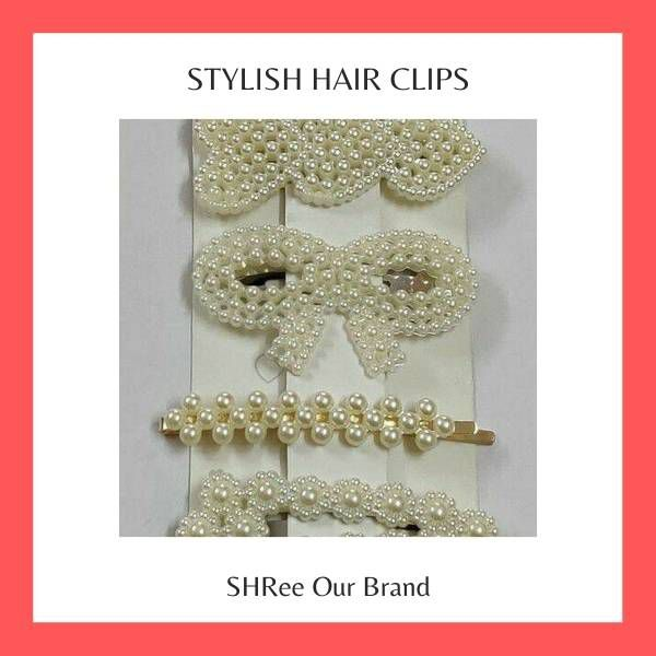 Stylish Hair Clips For Women