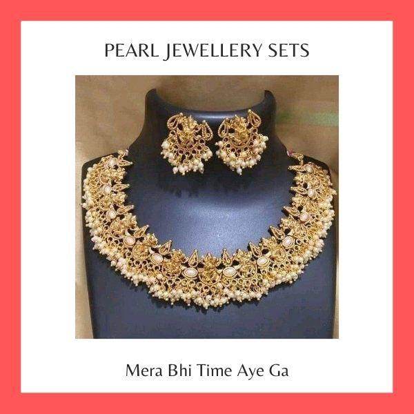 Pearl Jewellery Sets