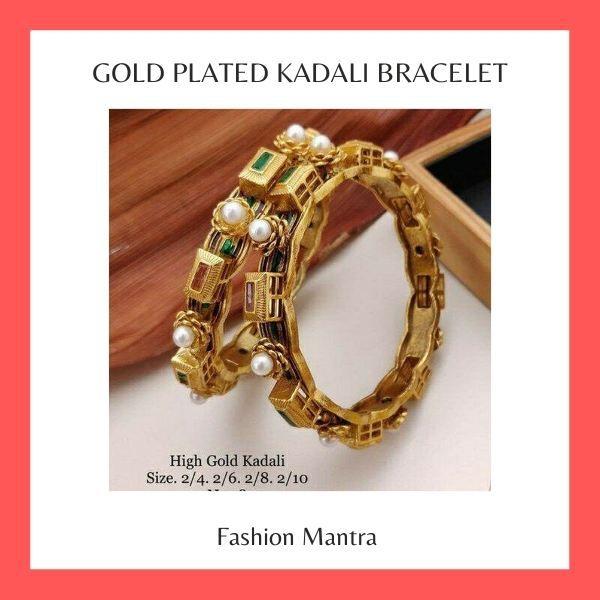 Gold Plated Kadali Bracelet