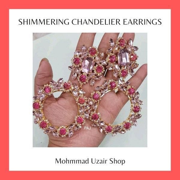 Shimmering Chandelier Earrings