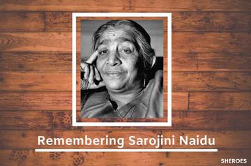 remembering sarojini naidu