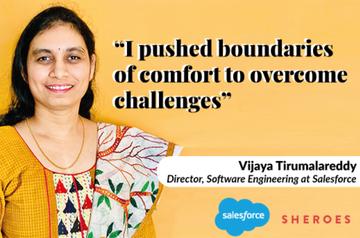 Salesforce, Vijaya Tirumalareddy, Women In Technology, Software Engineering