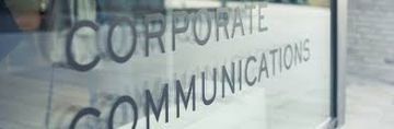 career in corporate communication