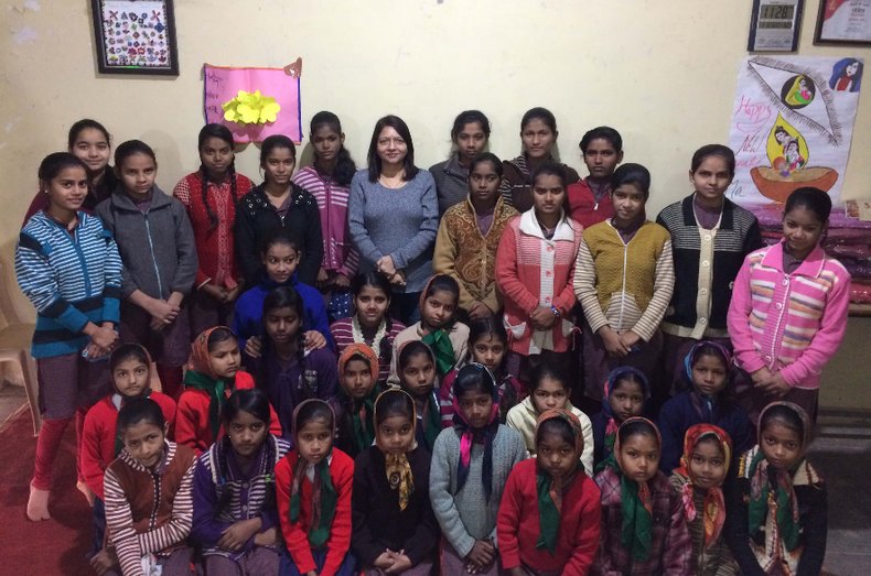 Sonia jolly adopted 45 girls