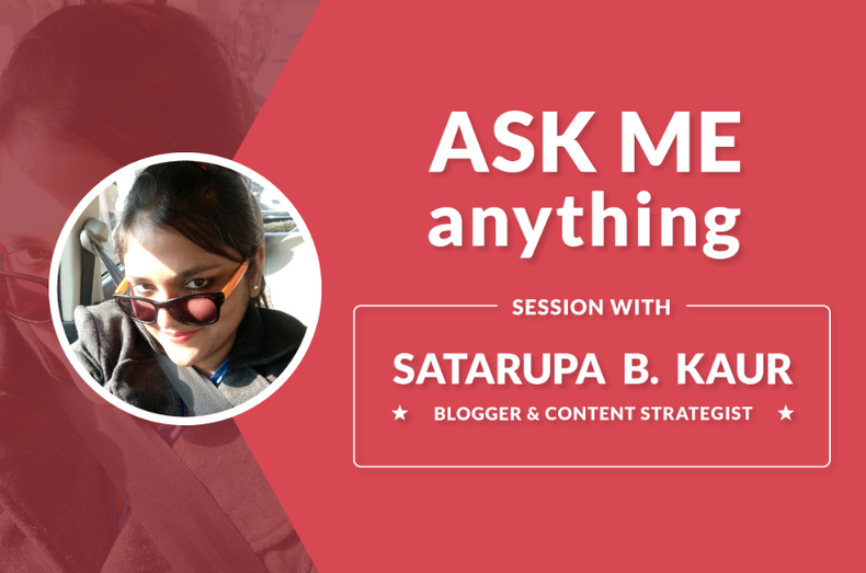ama session on blogging and content strategy
