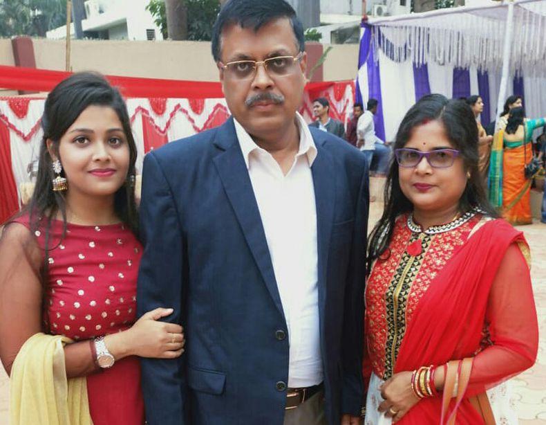 pallishree with family
